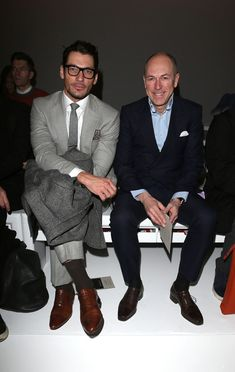 David Gandy Pictures Christopher Raeburn: Front Row - London Collections: MEN AW13 -