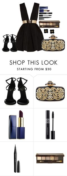 """Untitled #1314"" by fabianarveloc on Polyvore featuring Oscar de la Renta, Estée Lauder, Christian Dior, Marc Jacobs, Bobbi Brown Cosmetics and Tory Burch"