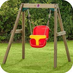Buy Plum Wooden Baby Swing Set at Argos. Baby Swing Set, Wooden Baby Swing, Swing Seat, Outdoor Play Equipment, Outdoor Fun For Kids, Australia Living, Christmas Toys, Argos, Cute Babies