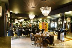 Mirror room Haras Restaurant Mexican Restaurant Magnolia Texas