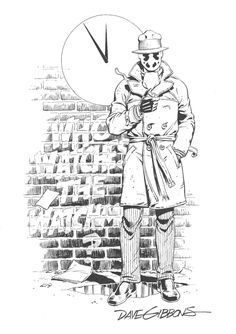 Rorschach by Dave Gibbons
