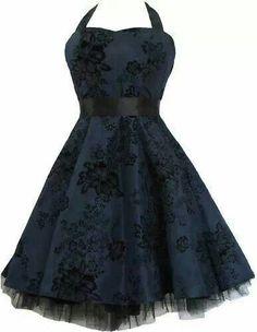 rockabilly dresses WANT! Vintage Dresses, Vintage Outfits, Vintage Fashion, Teen Fashion Outfits, Fashion Dresses, Dance Dresses, Short Dresses, Pretty Dresses, Beautiful Dresses