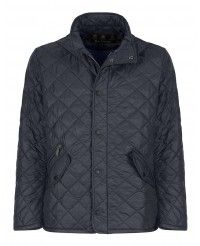 Barbour Men's Flyweight Chelsea Quilted Jacket - Navy/Blue MQU0007NY92