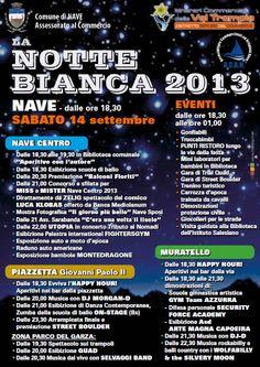 Notte Bianca a Nave http://www.panesalamina.com/2013/16533-notte-bianca-a-nave-2.html