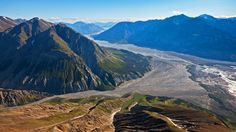Canada's wild frontier: Where glaciers and rainforests meet.Kluane National Park, where green mountains meet glaciers