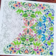 Working on another one #coloringbook #mycolorfullife