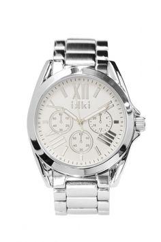 IKKI horloge Vika Silver VK01