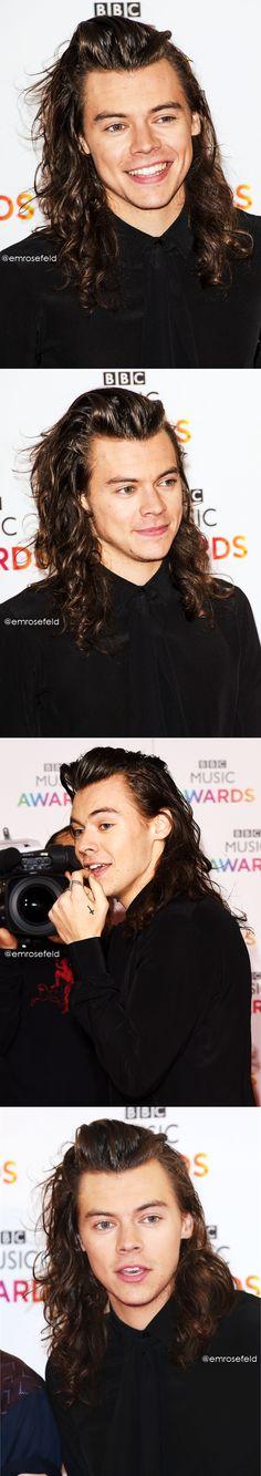 Harry Styles | BBC Music Awards 12.10.15 | @emrosefeld |