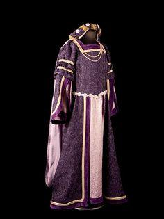 vestido de dama medieval
