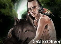 Ian and Rollo by Alex Oliver