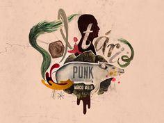 Solitary Punk by Pianofuzz , via Behance