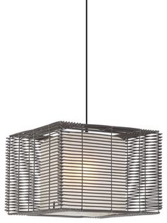Hive Kai Square Outdoor Pendant Lamp modern outdoor lighting