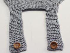 Peto para bebé de algodón - Patrón gratuito - Costurea Blog Knitting For Kids, Baby Knitting Patterns, Crochet Blouse, Knit Crochet, Knitted Baby Clothes, Baby Coat, Crochet Projects, Free Pattern, Grave