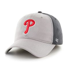 160781d20 Philadelphia Phillies Umbra Closer Dark Charcoal 47 Brand Stretch Fit Hat