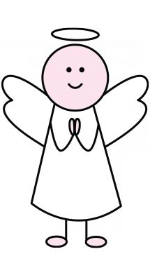 How to Draw an Angel for Children