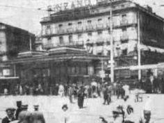 Madrid from XIX century's late years, until Civil War (XX's first years). Madrid desde finales del siglo XIX hasta la guerra civil.