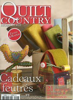 Quilt country: Cadeaux feutres_felt magazine