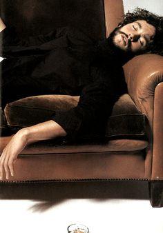 "amatesura: """" Hugh Dancy by Michel Comte for L'Uomo Vogue February 2004 (x) "" """