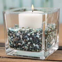 2 Pounds Crushed Shells in an Opalescent Mix Aqua and Turquoise Shades Perfect for Many Unique Uses -- Click image for more details.Note:It is affiliate link to Amazon. #WeddingAccessoriesIdeas