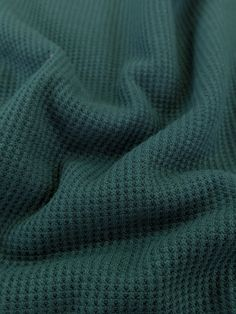 Mini Waffle Jersey - Proud Peacock – Sitka Fabrics