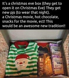 Such a cute idea, and a great tradition to start!