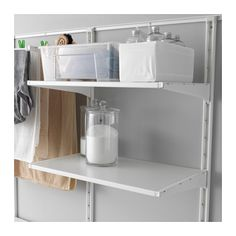 ALGOT Wall upright/shelves/drying rack  - IKEA