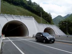 #Misiryeong Tunnel (미시령 터널 ), #Gangwon Province, Korea | The Misiryeong Tunnel opened in 2006 running from #Inje to #Sokcho under the Misiryeong Ridge, Taebaek Mountains. It was the second longest road vehicle tunnel in Korea at that time.
