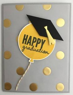 Celebrate graduation with a special card