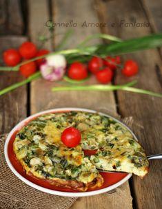 Frittata di asparagi alla siciliana