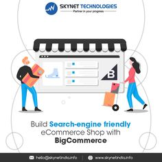 Ecommerce Stores built with BigCommerce are search-engine friendly! Build your own Ecommerce store with BigCommerce and sell your products worldwide! Contact Ecommerce Development Company today! #BigCommerce #BigCommerceDevelopmentCompany #BigCommerceDevelopmentService #BigCommerceWebDevelopment #BigCommerceCompany #BigCommerceWebsite #EcommerceDevelopment #EcommerceDevelopmentServices #EcommerceDevelopmentCompany #EcommerceServices #EcommerceSolution #Europe #USA #UK #Australia Ecommerce Web Design, Ecommerce Shop, Ecommerce Solutions, Web Development, Search Engine, Europe, Australia, Technology, Usa