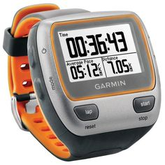 Also got myself a Garmin Forerunner 310XT HRM so I can time my runs and get info on my heartrate. The coolest feature? Easy. The ability to add courses and get a compas that points me in the right direction when running thru the forest.