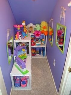 Practical use for space under the stairs!