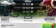 http://eaglesvsredskinslive.us    Eagles vs Redskins Live