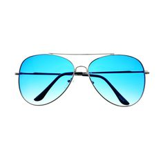 Womens Mens Fashion Large Silver Metal Aviator Sunglasses A1900