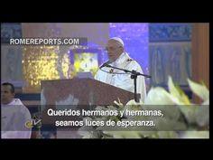 El Papa a los jóvenes: dejad a los falsos ídolos. Sólo Dios ofrece la verdadera esperanza - YouTube
