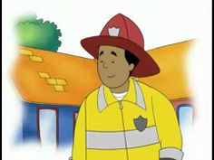 CAILLOU CAILLOU THE FIREFIGHTER!! - YouTube