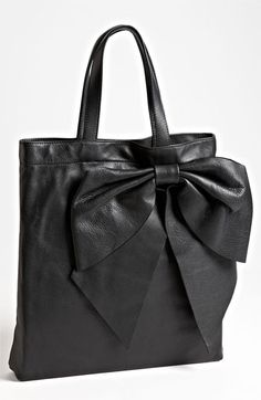 RED Valentino 'Bow' Calfskin Tote