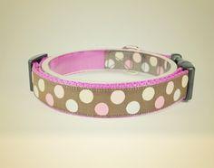 Obroża dla psa Candy pink - OssoDiCane - Obroże dla psów