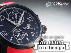Se destaca de todos y deja que tú estilo brille en un mundo de colores, eres único con nuestros #RelojesDMario. #PrecisiónSuiza #YoAmoDMario #Colombia #Panamá #Ecuador #TiendasDmario  Visítenos en www.dmario.com