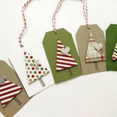 Christmas Gift Tags - Christmas Tree - Dimensional Sparkle Gift Tags - Gift Tags - 10 Tags - Cute handmade Christmas gift tags to brighten up your presents! Details: – Contains 10 tags – B - Handmade Christmas Gifts, Christmas Gift Wrapping, Homemade Christmas, Diy Christmas Tags, Christmas Carol, Holiday Gift Tags, Christmas Present Tags, White Christmas, Etsy Christmas
