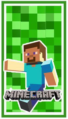 Kit imprimible candy bar Minecraft para eventos. | Candy Bar Gratis Mini Craft, Minecraft Party, Reindeer, Aldo, Gabriel, Crafts, David, Printables, Character