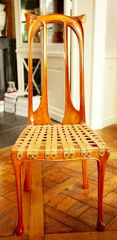 Chair | Interior architecht Jacques Grange's home at 2nd Arrondissement, Paris | January 2009 | The Selby