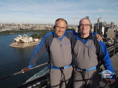 Me with Dr. Amnon Dekel, one of my fellow Imagine Cup judges at the top of the Harbor Bridge Climb! Harbor Bridge, Judges, Microsoft, Sydney, Top, Crop Shirt, Shirts