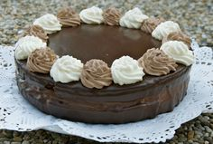 crustycorner: Pohádková Pohádka Something Sweet, Deserts, Food And Drink, Pudding, Baking, Recipes, Birthday Cakes, Cook, Bar