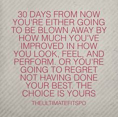 30 Day Health and Fitness Challenge