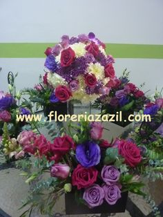 Purple wedding #Cancunweddingflowers #Cancunfloraldesign #Cancunflowershop #Floreriascancun #Diseñofloralcancun