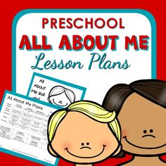 All About Me Theme Preschool Classroom Lesson Plans - Preschool Teacher 101