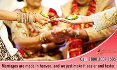 Find your Perfect Match Right here right away only at Rishtey Banao. Call 1800 3002 1505