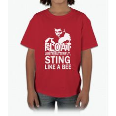 Float Like A Butterfly Sting Like A Bee Bee Movie Young T-Shirt