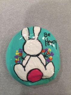 This is Creative DIY Easter Painted Rock Ideas 28 image, you can read and see another amazing image ideas on 80 Creative DIY Ideas to Make Painted Rock for Easter gallery and article on the website